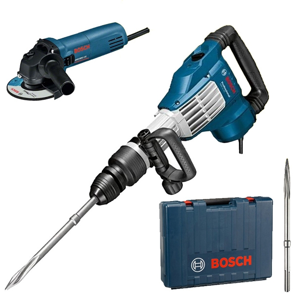 bosch gsh 11 vc gws 850 c 125 mm ciocan demolator polizor unghiular 0615990h32 bosch. Black Bedroom Furniture Sets. Home Design Ideas