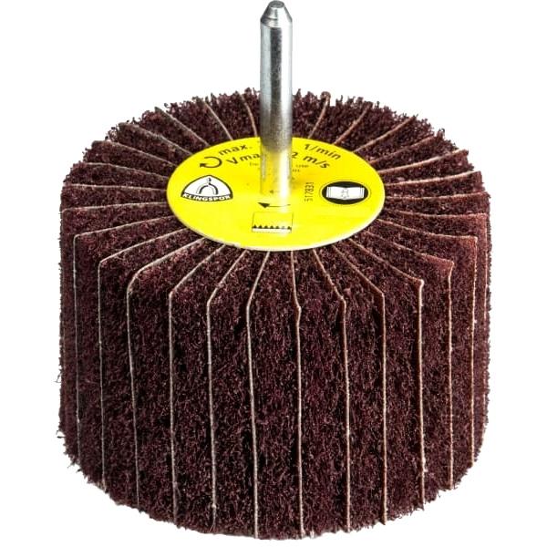 Cepillos de fibra laminar con varilla