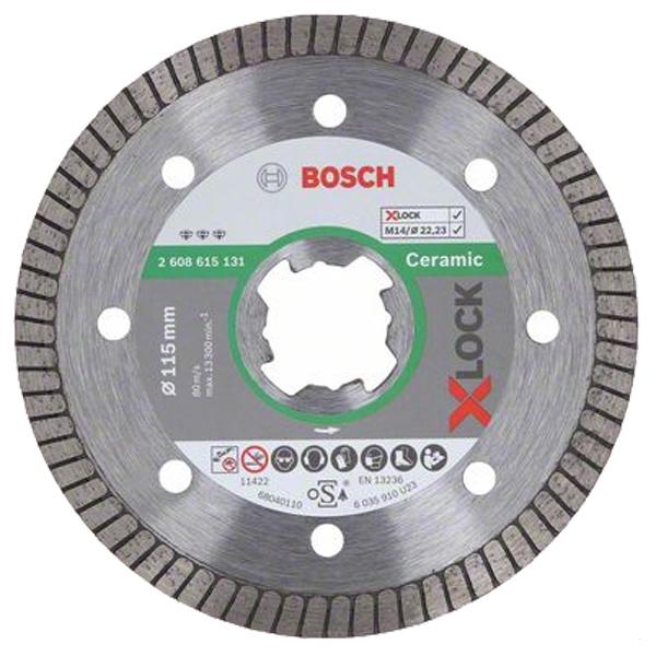 Discos de corte de diamante X-LOCK