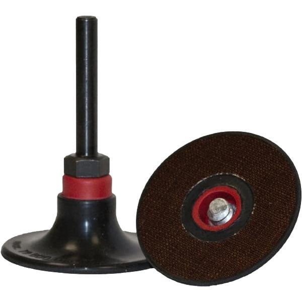 Soporte de fijación para discos con agarre rápido.