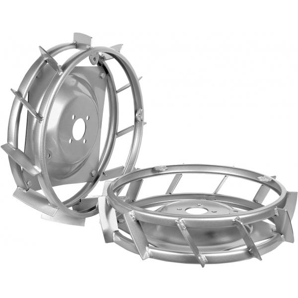 Ruedas de metal para motocultores