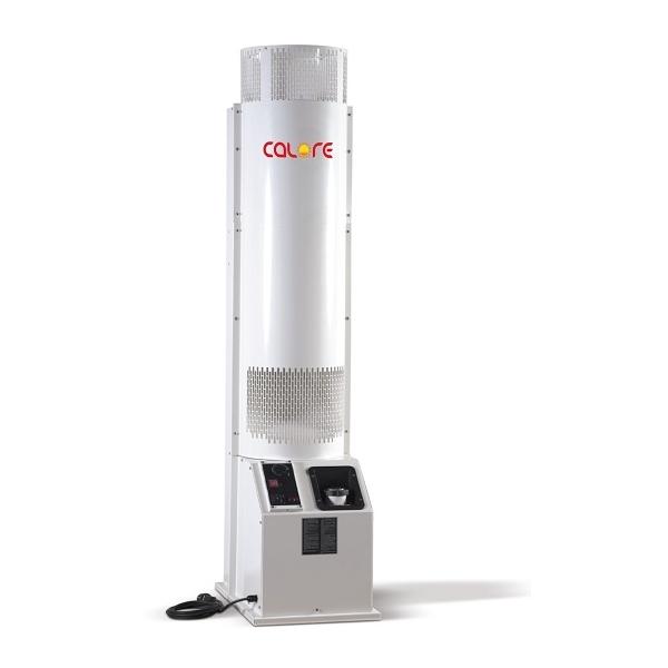 Generador aire caliente de grande potencia