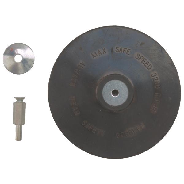 Placas redondas de soporte de goma