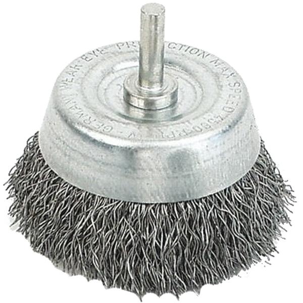 Cepillos y ruedas abrasivos con vástago