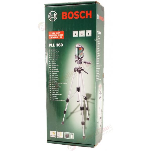 bosch pll 360 set nivela laser cu linii 20 m 0 4. Black Bedroom Furniture Sets. Home Design Ideas